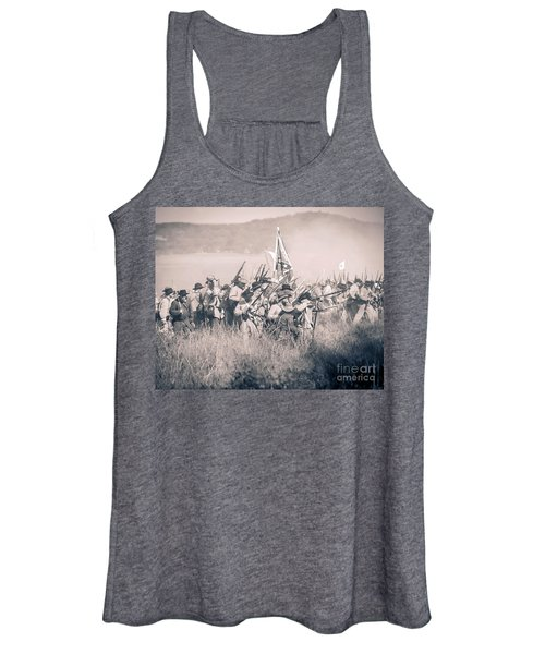 Gettysburg Confederate Infantry 9214s Women's Tank Top