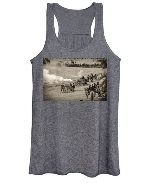 Gettysburg Union Artillery And Infantry 7439s Women's Tank Top
