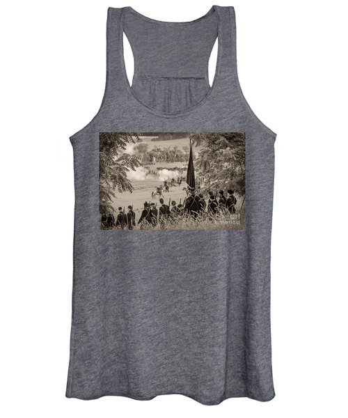 Gettysburg Union Artillery And Infantry 7457s Women's Tank Top