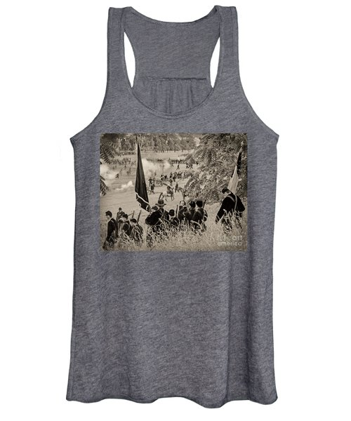 Gettysburg Union Artillery And Infantry 7459s Women's Tank Top