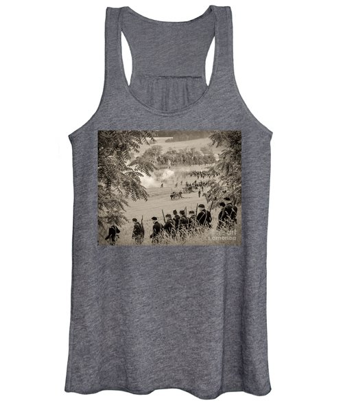 Gettysburg Union Artillery And Infantry 7465s Women's Tank Top