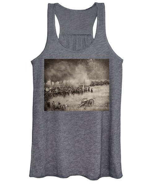 Gettysburg Union Artillery And Infantry 8456s Women's Tank Top