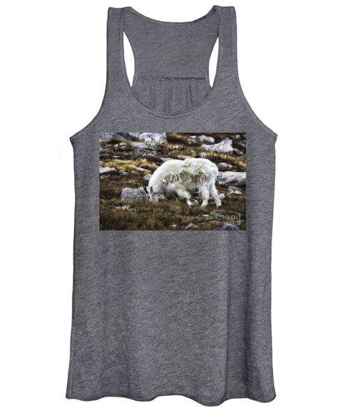 Rocky Mountain Goat Women's Tank Top