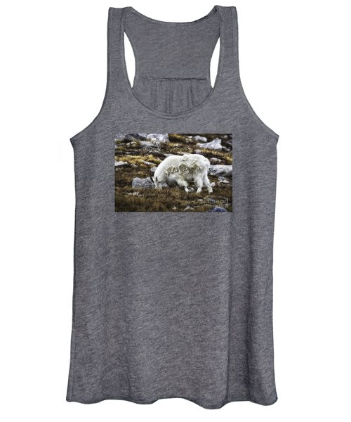 Rocky Mountain Goat Women's Tank Top