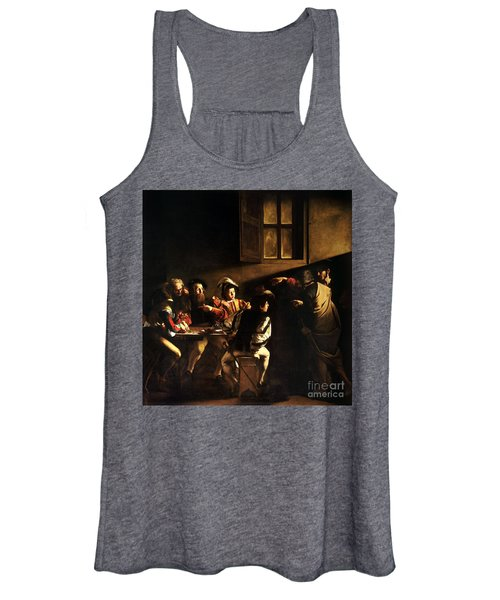 The Calling Of Saint Matthew Women's Tank Top
