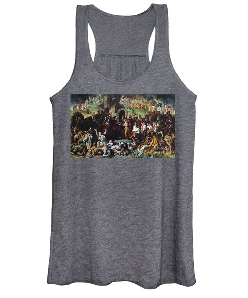 The Marriage Of Strongbow And Aoife Women's Tank Top