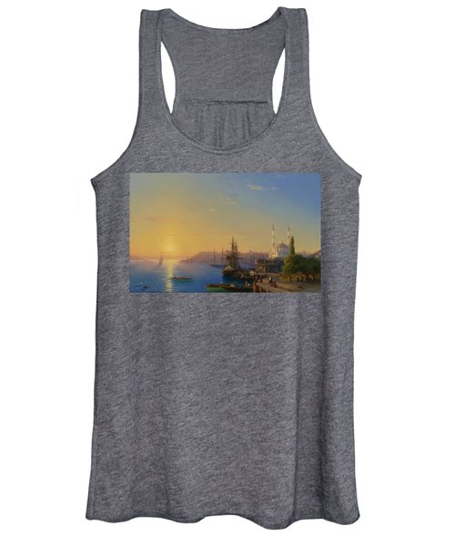 View Of Constantinople And The Bosphorus Women's Tank Top
