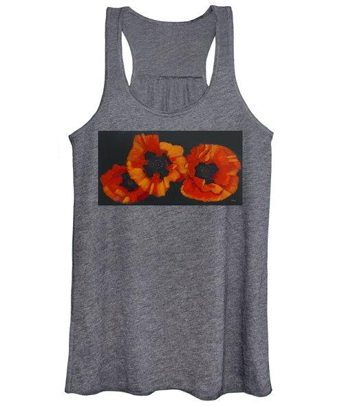 3 Poppies Women's Tank Top