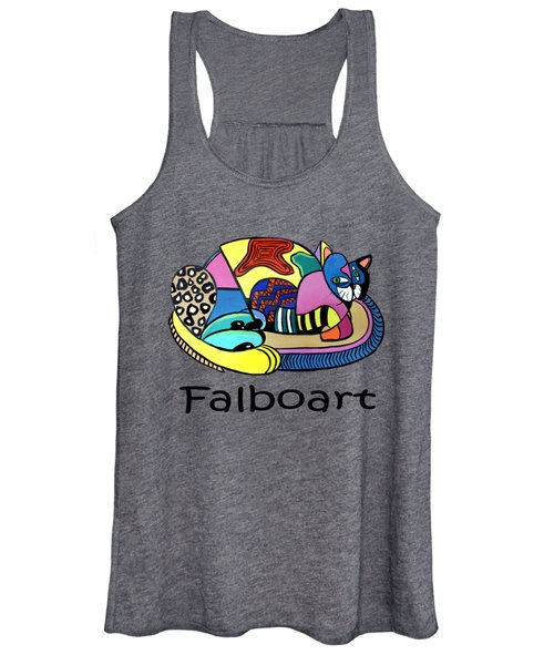 A Cat Named Picasso Women's Tank Top