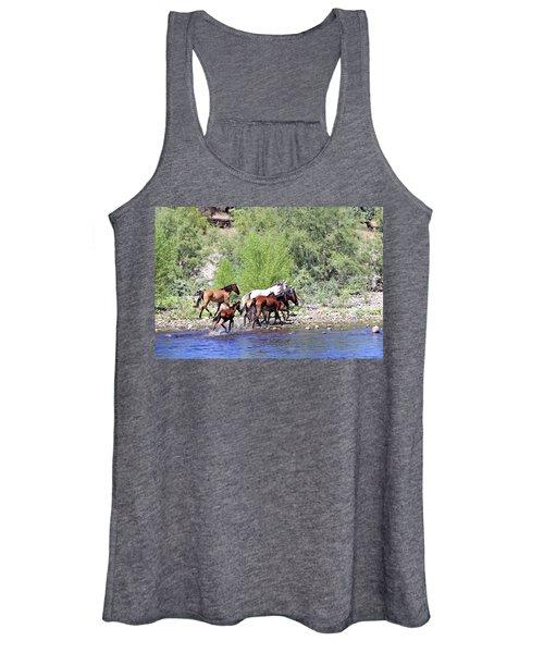 Arizona Wild Horses Women's Tank Top
