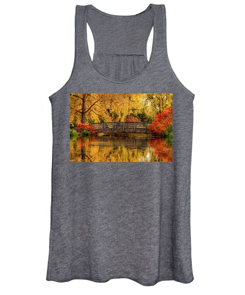 Autumn In The Park Women's Tank Top