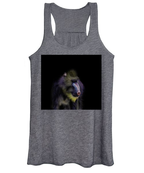 Baboon Portrait Women's Tank Top