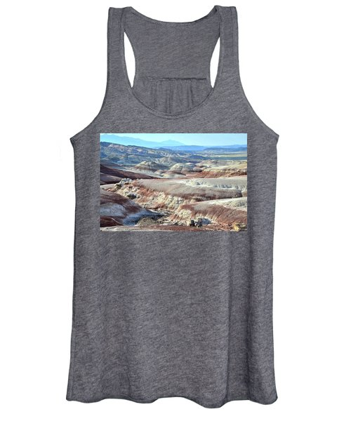 Bentonite Clay Dunes In Cathedral Valley Women's Tank Top