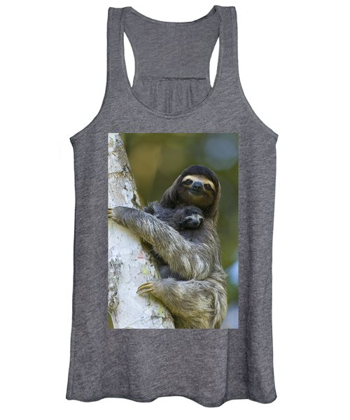 Brown-throated Three-toed Sloth Women's Tank Top
