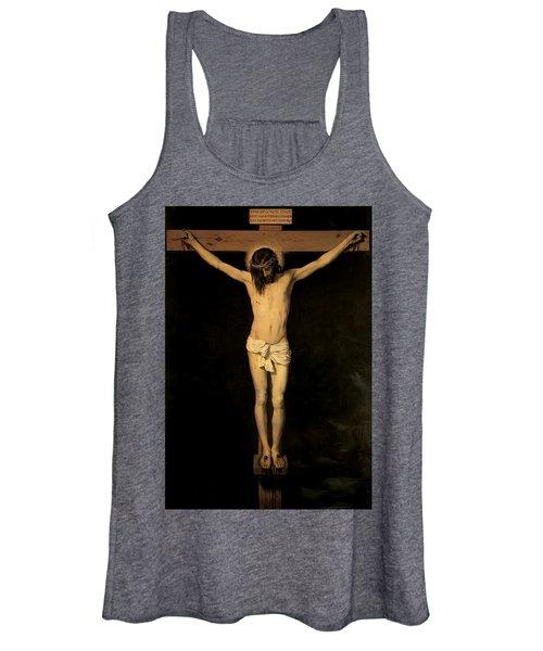 Christ On The Cross Women's Tank Top
