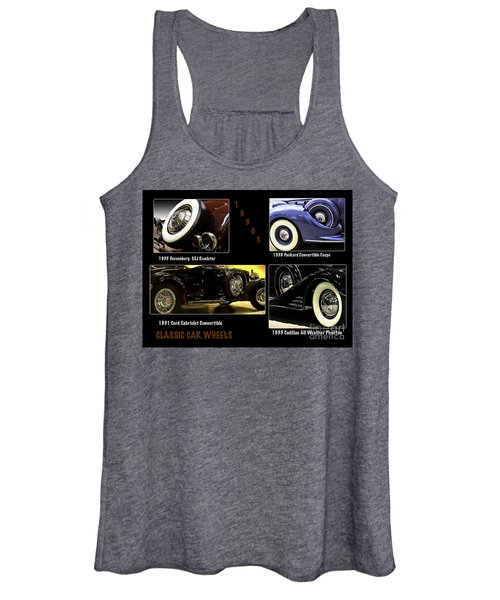 Classic Car Wheels Women's Tank Top