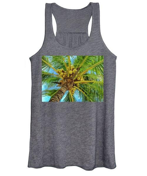 Coconuts In Tree Women's Tank Top