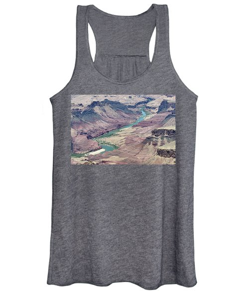 Colorado River In The Grand Canyon Women's Tank Top