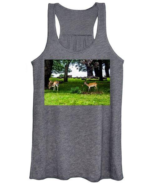 Deer In The Park Women's Tank Top