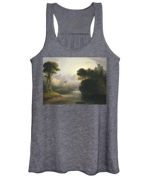 Fanciful Landscape Women's Tank Top