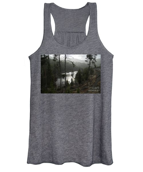 Firehole River In Yellowstone Women's Tank Top