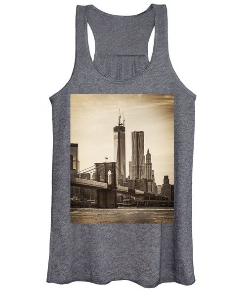 Freedom Tower Rising Women's Tank Top
