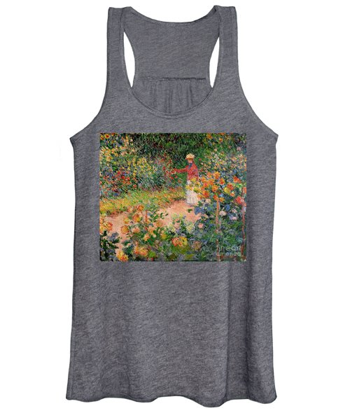 Garden At Giverny Women's Tank Top