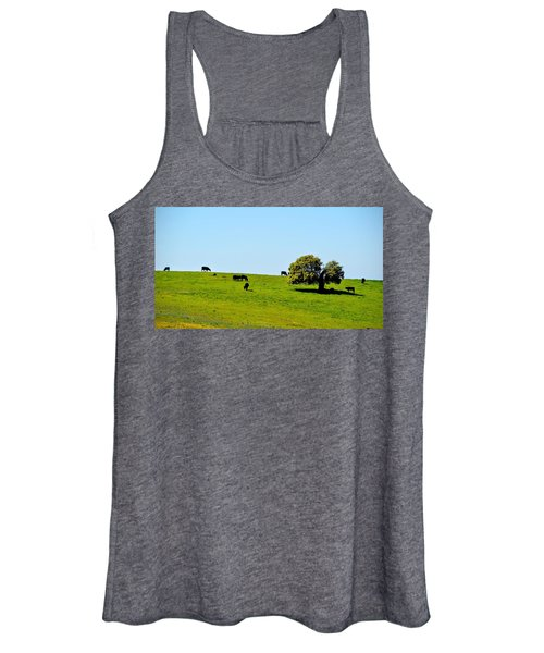 Grazing In The Grass Women's Tank Top