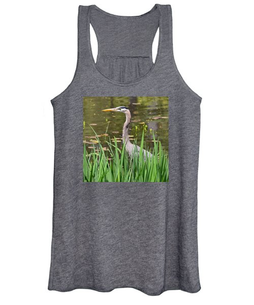 Great Blue Heron Women's Tank Top