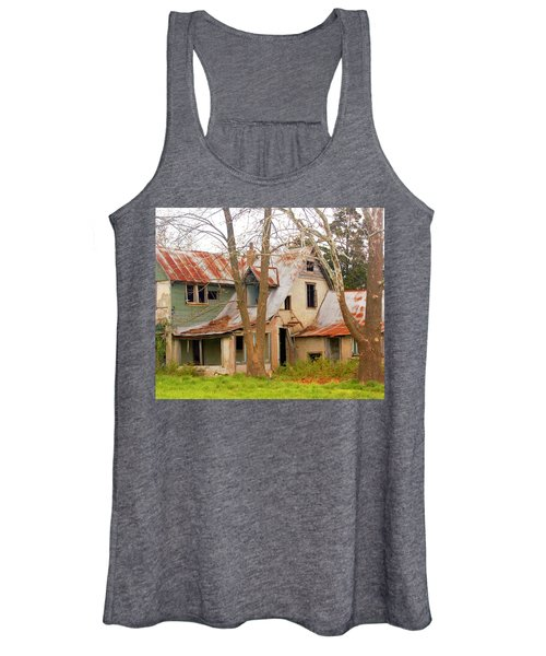 Haunted House Women's Tank Top