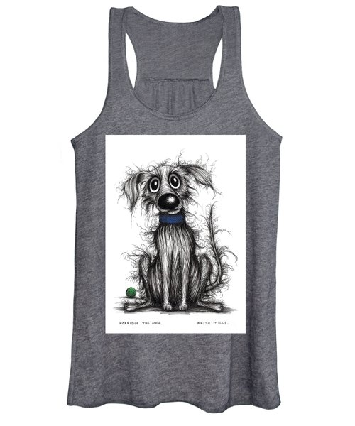 Horrible The Dog Women's Tank Top
