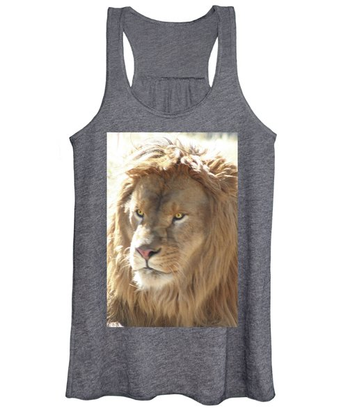 I Am .. The Lion Women's Tank Top