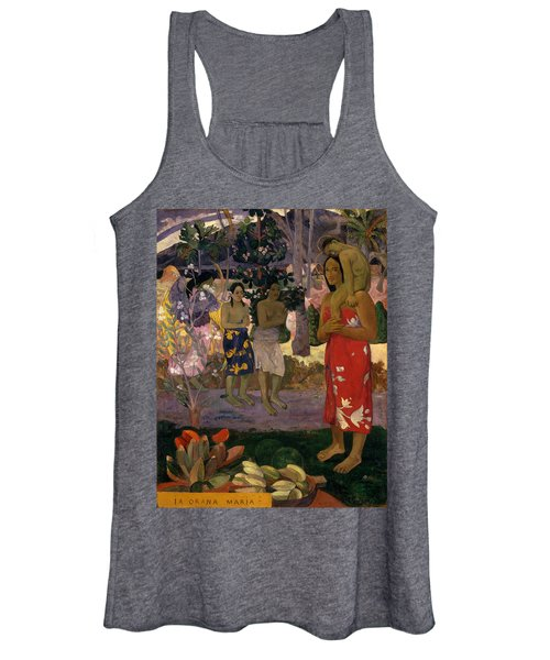 Ia Orana Maria Hail Mary Women's Tank Top