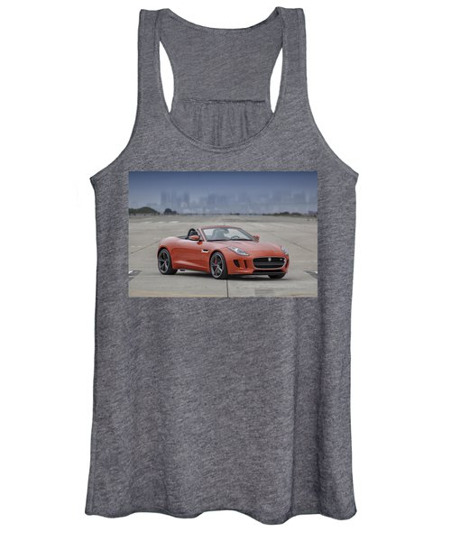 Jaguar F-type Convertible Women's Tank Top