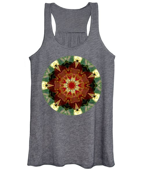 Kaleidoscope - Warm And Cool Colors Women's Tank Top