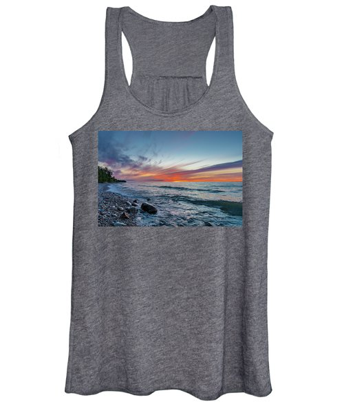 Lake Superior Sunset Women's Tank Top