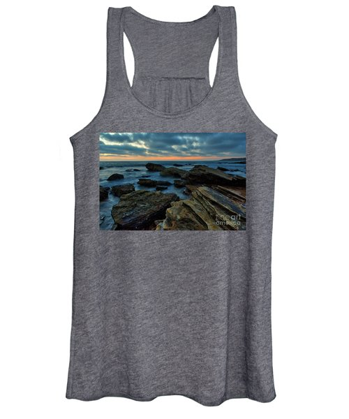 Last Light At Crystal Cove Women's Tank Top