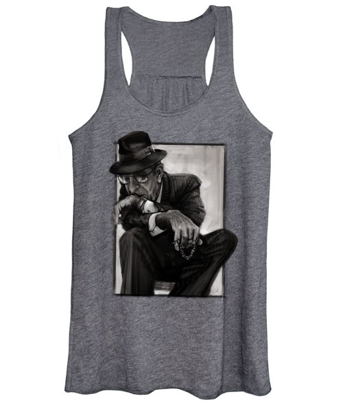 Leonard Cohen Women's Tank Top