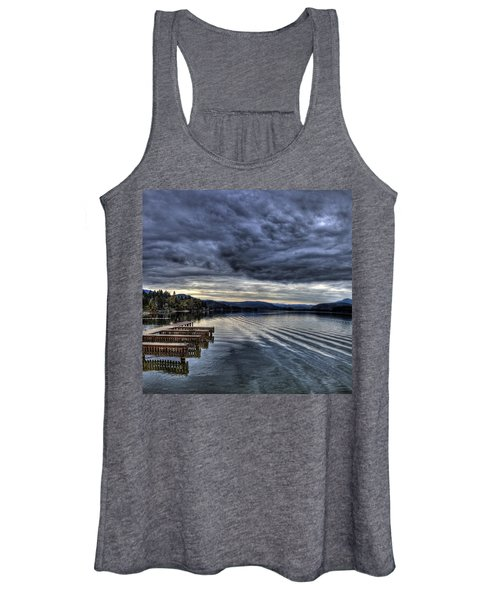 Looking West From 41 South Women's Tank Top