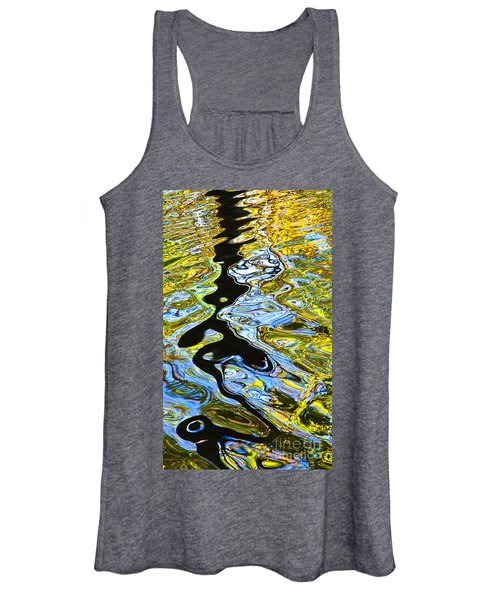 Mill Pond Reflection Women's Tank Top