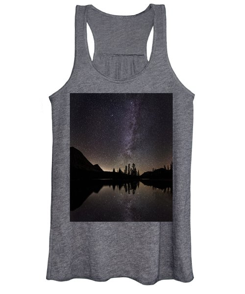 Mirror Lake Milky Way Women's Tank Top