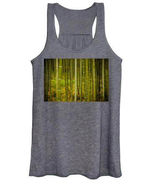 Mystical Bamboo Women's Tank Top