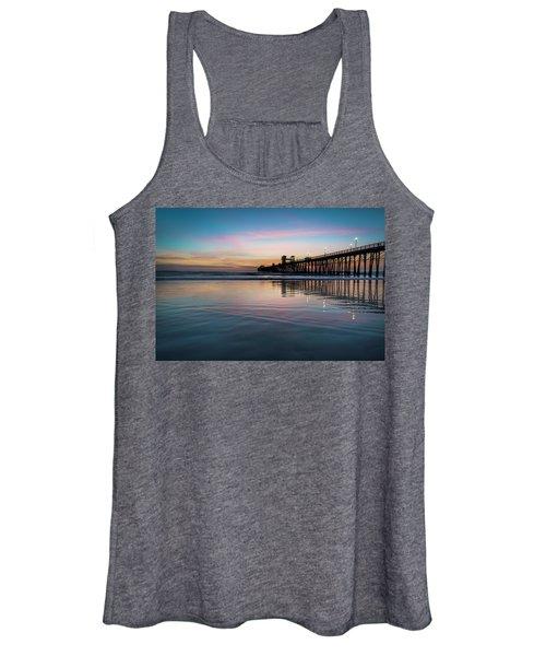 Oceanside Pier Sunset Women's Tank Top