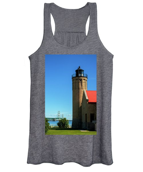 Old Mackinac Point Lighthouse Women's Tank Top