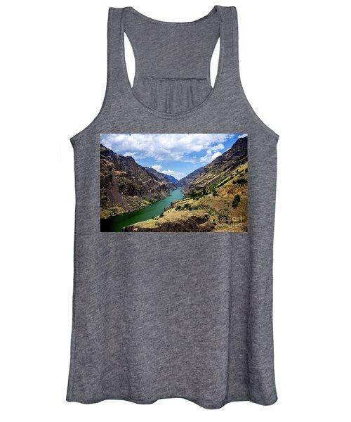 Oxbow Dam Tailwater Idaho Journey Landscape Photography By Kaylyn Franks  Women's Tank Top