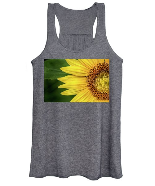 Partial Sunflower Women's Tank Top