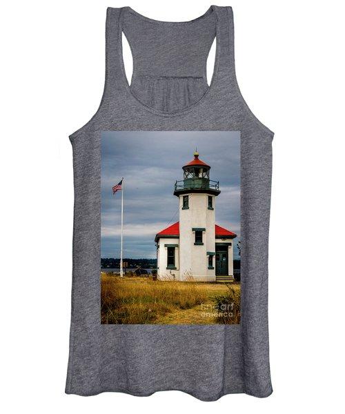 Point Robinson  Lighthouse,vashon Island.wa Women's Tank Top