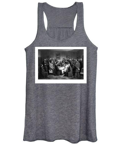 President Lincoln's Deathbed Women's Tank Top
