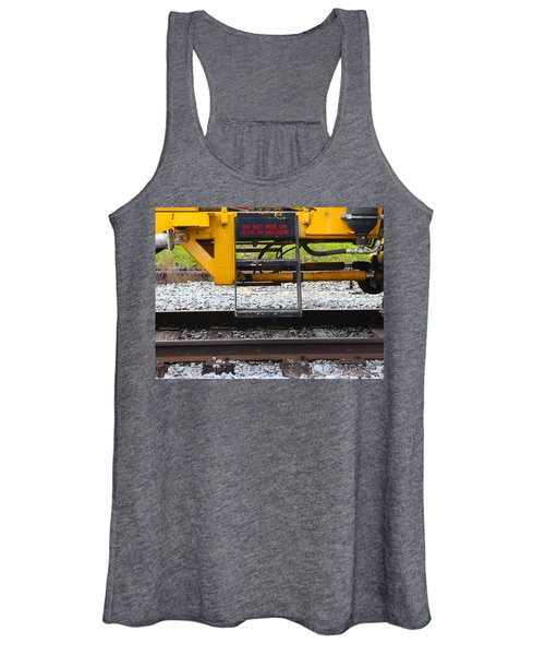 Railroad Equipment Women's Tank Top