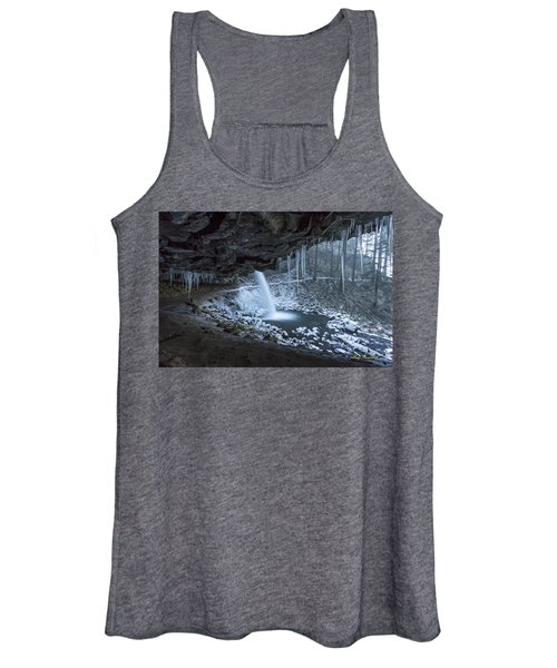 Sheltered From The Blizzard Signed Women's Tank Top